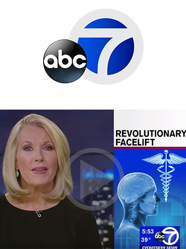 Dr. Matthew White pioneering facelift technique the golden angle lift